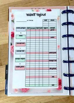 Monthly Budget Spending Tracker Dashboard Insert for use wit
