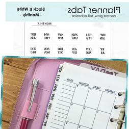 Monthly Planner Tab Index Stickers: FITS Louis Vuitton Agend