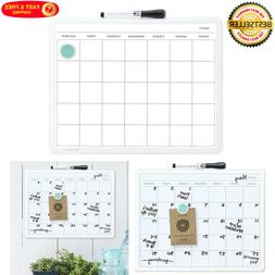Monthly Wall Calendar Planner One Month Dry Erase Board Whit