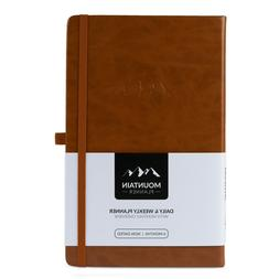 Mountain Daily Planner Undated Weekly Monthly Agenda Goal No