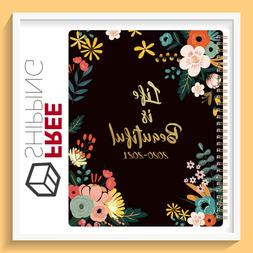 "NEW Academic Weekly & Monthly Planner 8"" x 10"" with Floral C"