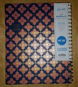 New July 2019-June 2020 Blue Sky Hardcover Gold Metal Weekly