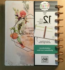 "NEW! me & my BIG Ideas The Happy Planner ""FAITH"" UNDATED"
