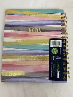 New Mintgreen 2020 Gold Pink Spiral Bound Weekly/monthly Pla