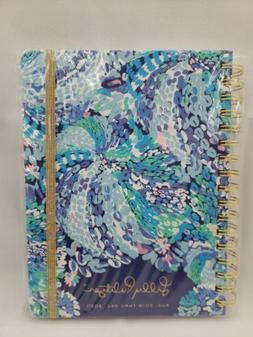 New Lilly Pulitzer Turquoise Oasis Wave After Wave ~ LARGE 1