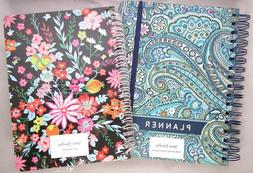 VERA BRADLEY Non-Dated 12 Month Planner Daisy Dot Paisley &
