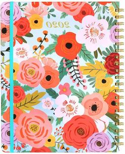 Organizer Factory 2020 Weekly And Monthly Planner 6 x 8.5 fl