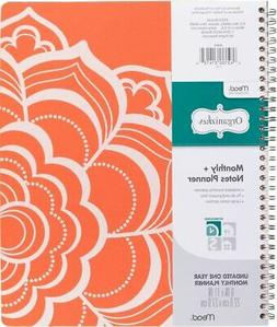 Mead Organizher Undated Monthly Planner with Notes - Organiz