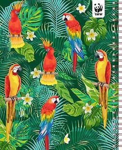 parrots monthly planner 2021 7 5 x