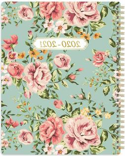 Planner 2020-2021- Weekly and Monthly Planner 8'' x 10'', Fl