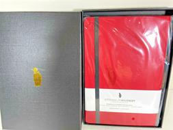 """PENGUIN PLANNER RED 8"""" X 5"""" NON-DATED WEEKLY PLANNER 12 Mont"""