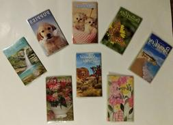 Pocket Planners For School, Work, Appts. Choose from Ten Sty