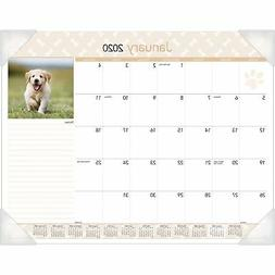 At-A-Glance Puppies Monthly Desk Pad
