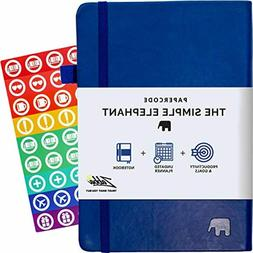 Simple Elephant Planner 2 - Daily, Weekly, Monthly - High Pe