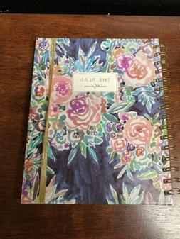 spiral bound undated planner weekly and monthly