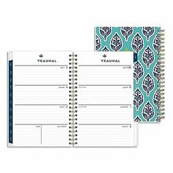 Sullana Weekly/Monthly Planner, 8 x 5, Teal Cover, 2021 1105