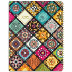 """Weekly & Monthly Planner 2020 with Premium Thick Paper, 8.5"""""""