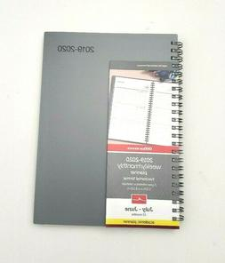 """Office Depot Weekly/Monthly Academic Planner 5"""" x 8"""" Gray 07"""