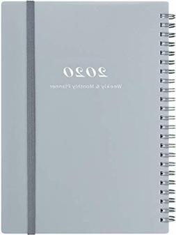 Weekly Monthly Planner 2020 Organizer with Tabs Elastic Clos